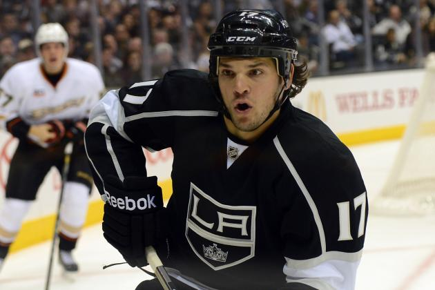 Carcillo to Make Kings Debut vs. Ottawa