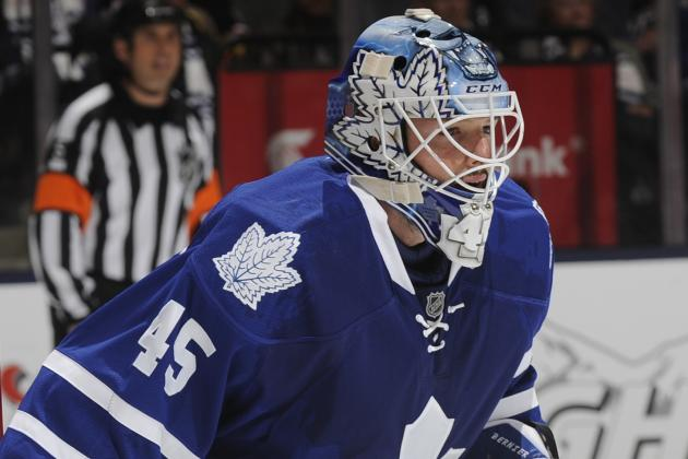 Leafs Goalie Bernier Looks Like the Real Deal