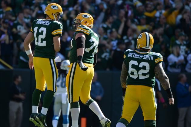 Packers' Early-Season Schedule Will Ensure a Battle-Tested Offensive Line