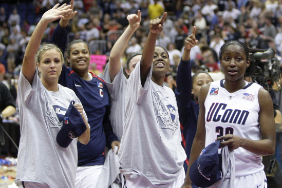 In 2014, UConn Women's Trek To Final Four Will Be A Bit Harder