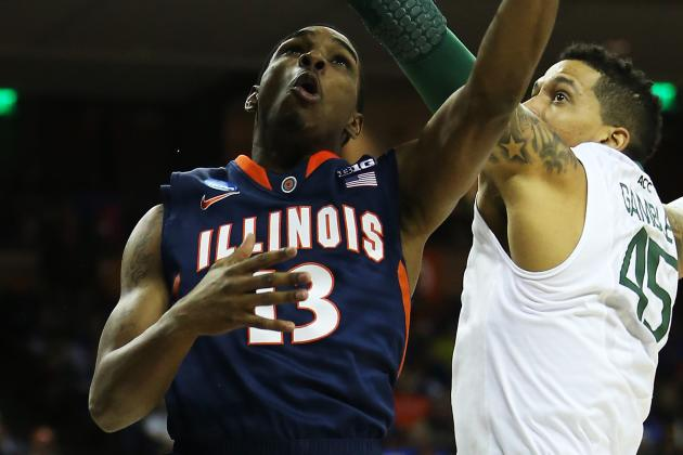 Young Illini Team Looks to Quiet Abrams to Lead