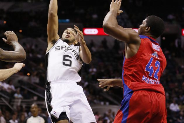 Spurs Beat CSKA Moscow 95-93 in OT