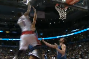 DeMar DeRozan Throws Down Alley-Oop Pass from Rudy Gay