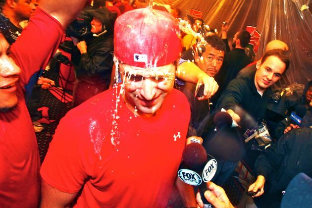 Video, Twitter Reaction of St. Louis Cardinals Celebrating NLDS Series Victory