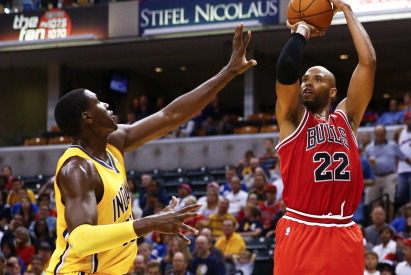 Taj Gibson Says Pacers, Heat Inseparable as Bulls' 2 Biggest Rivals