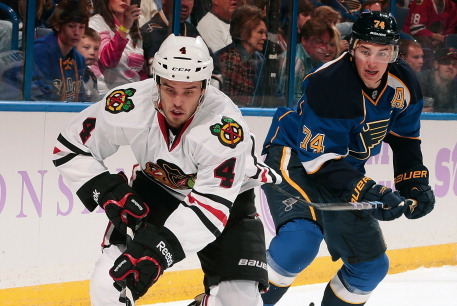 Blackhawks Lament 'Brutal Loss' to Blues
