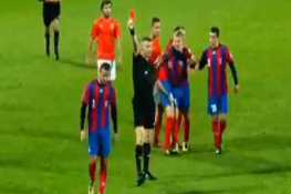 Lithuanian Defenders Settle Their Differences with Fist Fight on Pitch