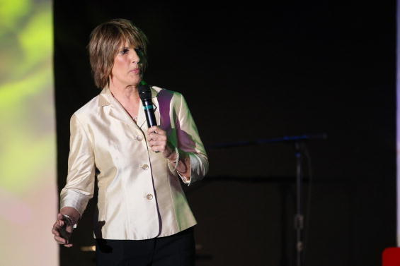 Diana Nyad Raises More Than $100K in 2-Day Swim for Hurricane Sandy Relief