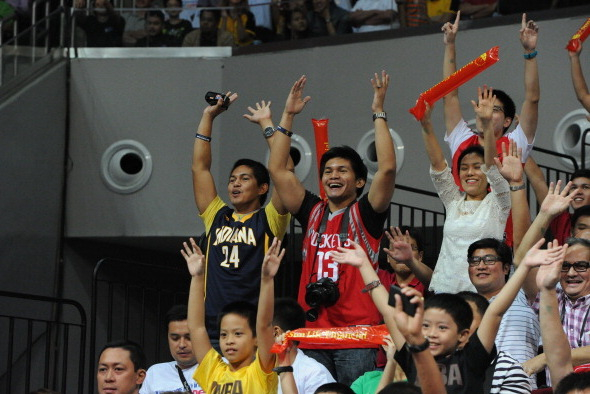 Pacers Being Exposed to Passionate Basketball Fans in the Philippines