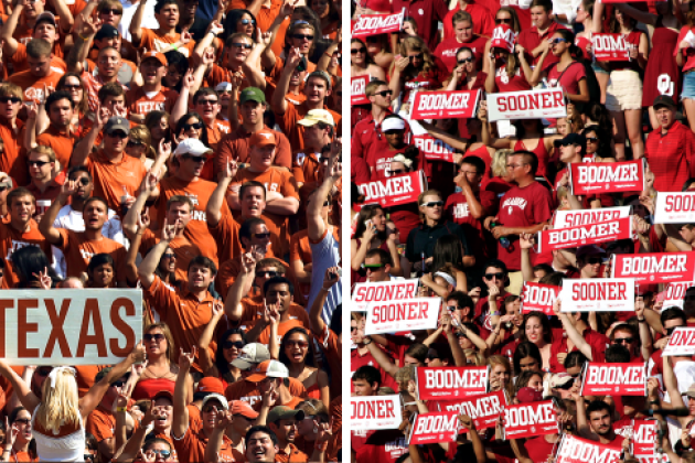 Football and Fried Beer: The Faces and Stories of the Red River Rivalry