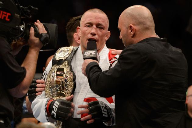 Georges St-Pierre May Retire Following UFC 167 Bout, According to Trainer