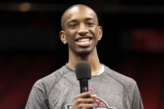 Video: Russ Smith Makes His Sports Reporter Debut
