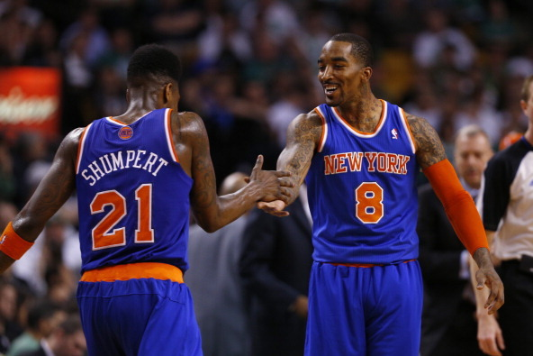Should NY Knicks Be Starting Iman Shumpert or J.R. Smith at Shooting Guard?