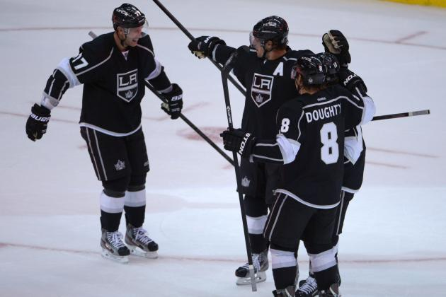 Jeff Carter Deflects Winner for Kings in OT