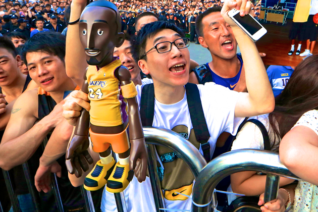 The Crazy, Scary Stories of Kobe Bryant's Insane Popularity in China