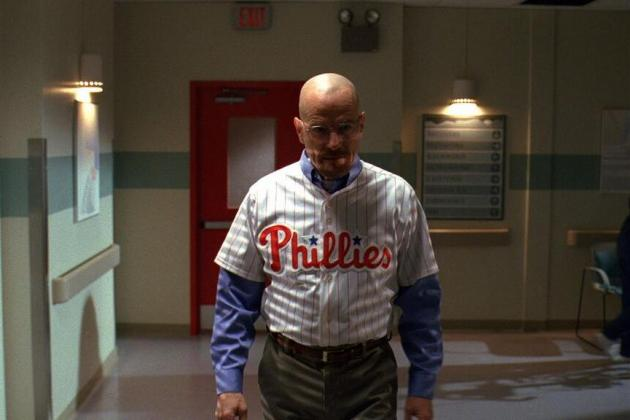 Walter White of 'Breaking Bad' Is Apparently a Philadelphia Phillies Fan