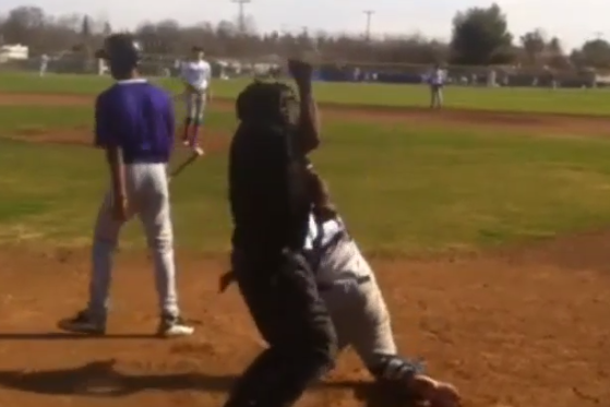 Umpire's Strike Three Call Is 'Whoomp, There It Is'
