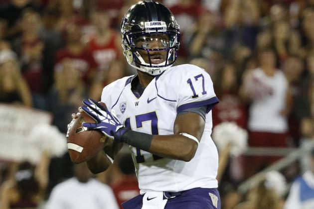 Oregon vs. Washington: Does Bishop Sankey or Keith Price Pose a Bigger Threat?