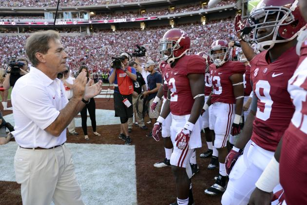 What Would the Vegas Line Be for Alabama vs Every Non-SEC Undefeated?