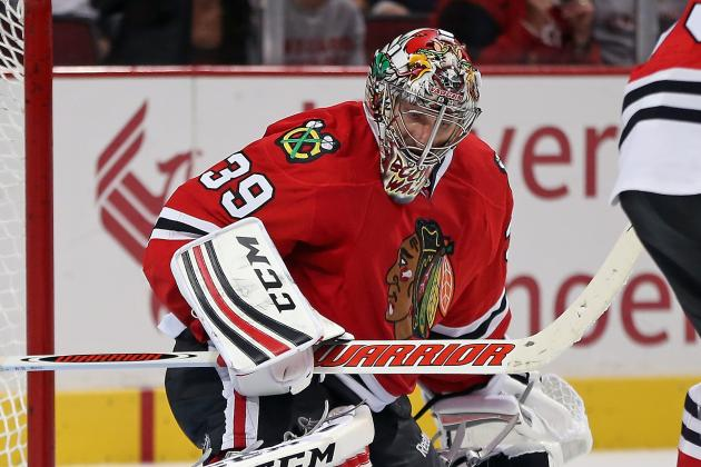 Khabibulin's First Start in Return with Hawks Will Come Friday