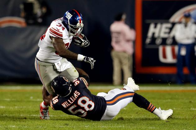 Brandon Jacobs' Instant Fantasy Reaction After Week 6 Performance vs. Bears