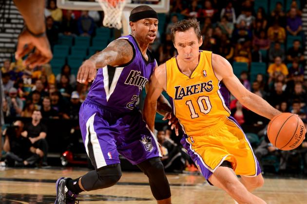 Steve Nash Injury: Updates on Lakers Star's Ankle, Likely Return Date