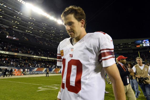 Eli Manning's Instant Fantasy Reaction After Week 6 Performance vs. Bears