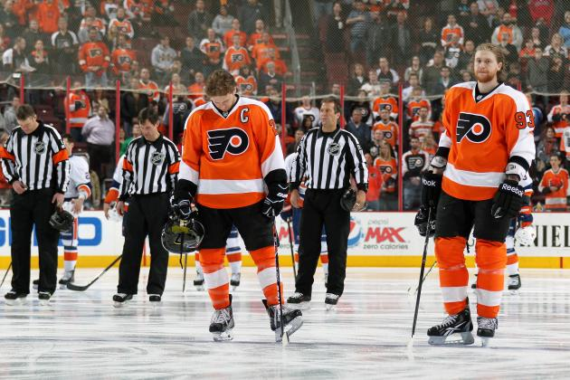Claude Giroux and Jakub Voracek Must Dig Philadelphia Flyers out of Hole
