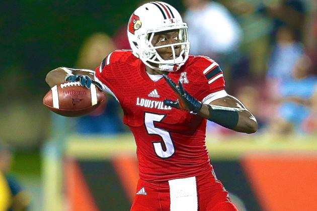 Rutgers vs. Louisville: Teddy Bridgewater Hurts Heisman Hopes Despite Victory