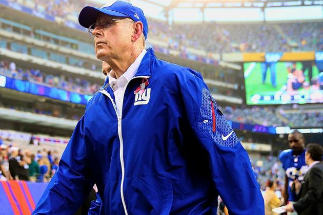 Winless New York Giants Need to Move on from Tom Coughlin