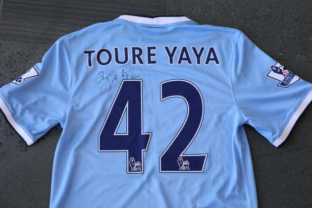 Win Yaya Toure's Signed Manchester City Shirt in Our Fan Friday Giveaway!