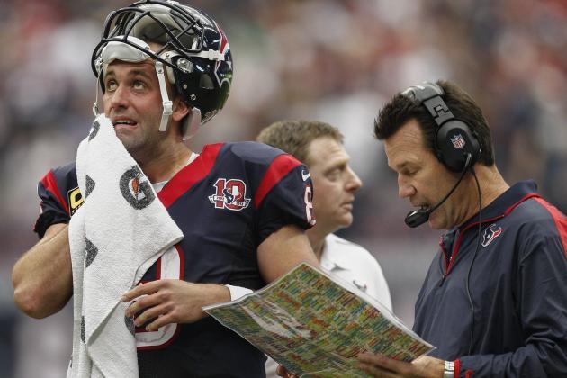 Matt Schaub's Status as Texans' Starting QB in Doubt