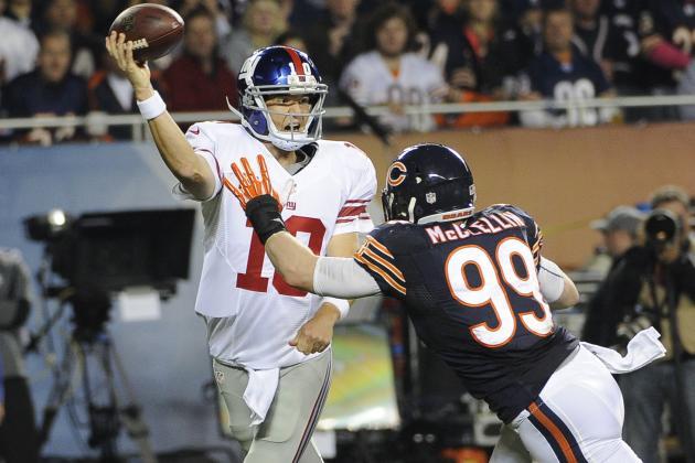 Eli Manning Distraught After Latest Interception-Fest