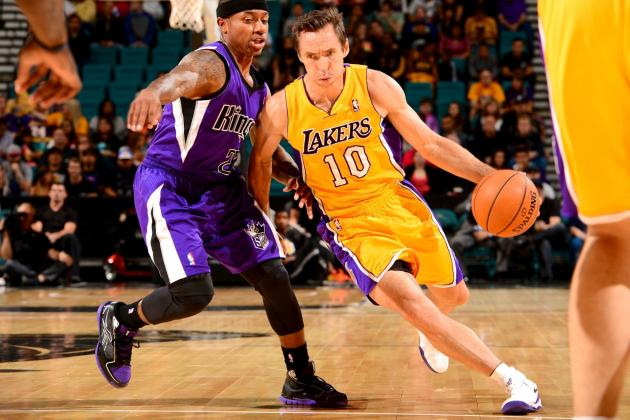 Steve Nash, Not Kobe Bryant, Is LA Lakers' Biggest X-Factor in 2013-14