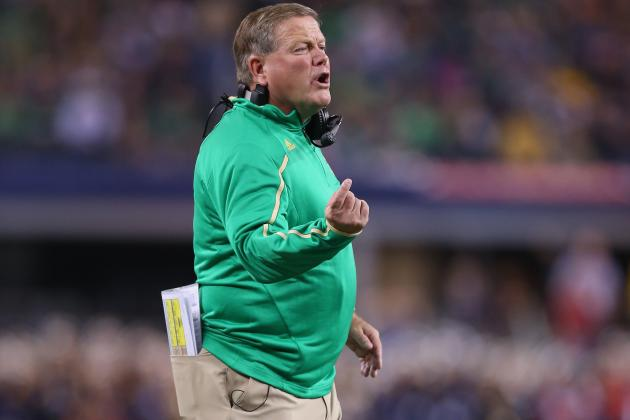 Notre Dame Football: Elmer Grows into Roles