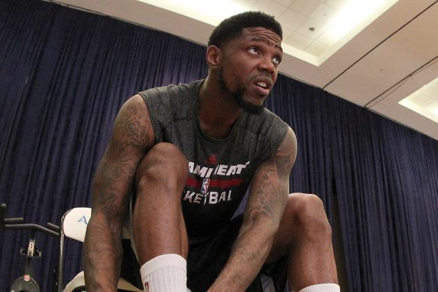 Haslem Again Attempts to Step Out to 3-Point Line