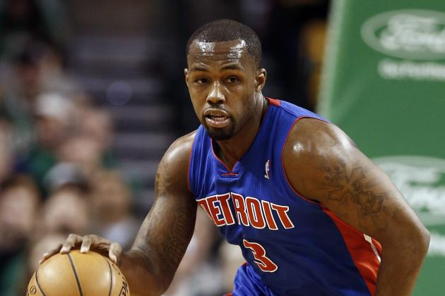 Pistons Guard Rodney Stuckey Breaks Thumb in Car Door, Will Undergo Surgery