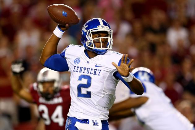 Sophomore Whitlow Solidifies Role as Kentucky's QB