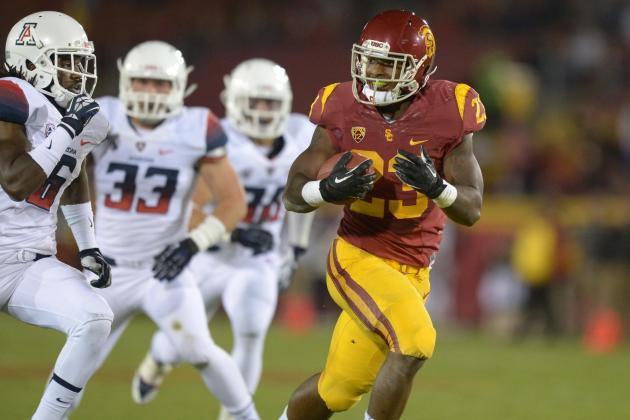 Arizona vs. USC Football: Trojans' Rushing Attack Key to Post-Kiffin Revival