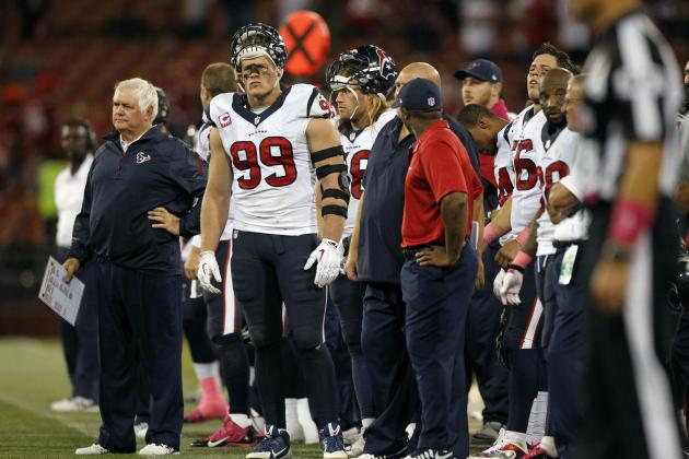 Texans' D Struggling to Force Turnovers