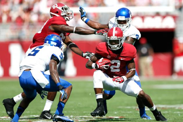 Alabama vs. Kentucky: Live Game Grades and Analysis for the Crimson Tide