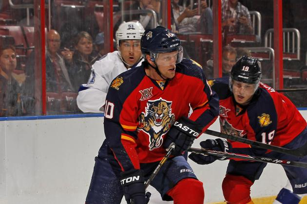 Florida Panthers Loan F Joey Crabb to San Antonio (AHL)