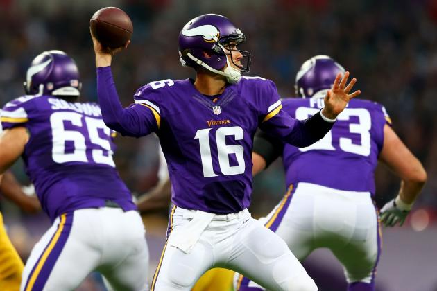 Matt Cassel Will Start at QB for Vikings in Week 6