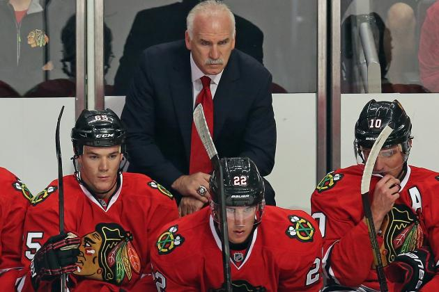 Quenneville Shuffles Blackhawks' Lines for Isles