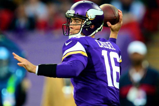 Matt Cassel Will Start at QB for Vikings in Week 6