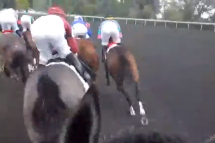 Watch This Awesome First Person POV of a Famous Horse Racing Jockey
