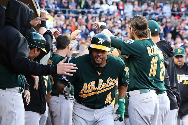 MLB Offseason: Oakland A's Must Exercise 2014 Option for Coco Crisp