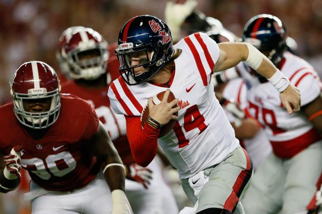 Texas A&M vs. Ole Miss: Are Rebels Capable of Scoring with Johnny Manziel?