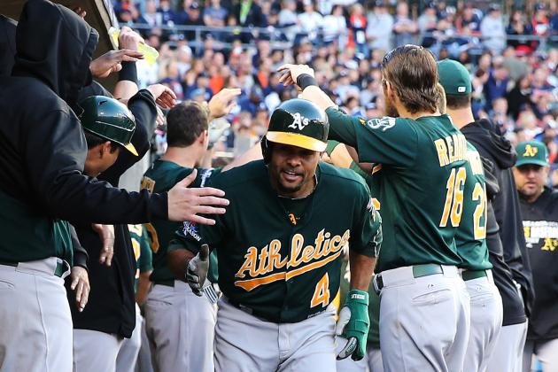 Report: Coco Crisp to Remain with Oakland A's Under 2014 Club-Option