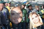 A's Fans Taunt Verlander with Giant Kate Upton Heads